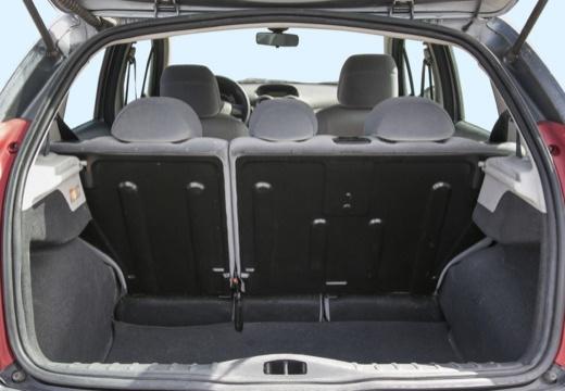 CITROEN C3 I hatchback przestrzeń załadunkowa