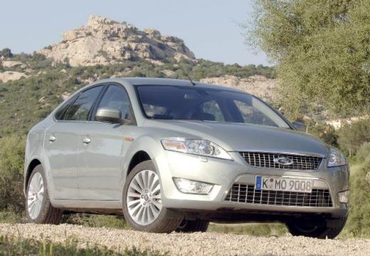 FORD Mondeo VI hatchback silver grey przedni prawy