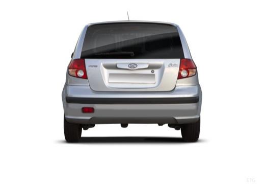 HYUNDAI Getz hatchback tylny