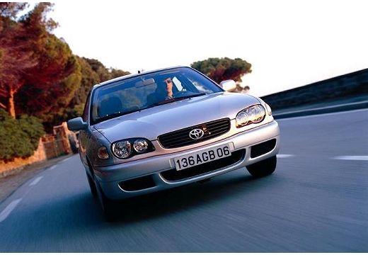 Toyota Corolla Liftback V hatchback silver grey przedni