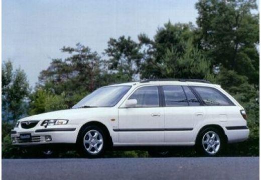 MAZDA 626 kombi biały przedni lewy
