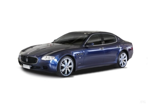 MASERATI Quattroporte II sedan niebieski jasny przedni lewy