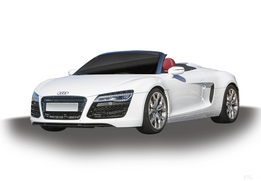 AUDI R8 Spyder II roadster biały