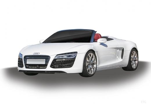 AUDI R8 roadster biały