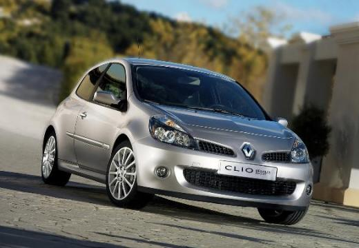 RENAULT Clio III I hatchback silver grey przedni prawy