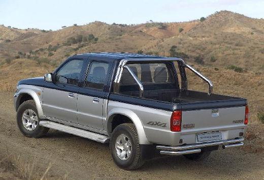 MAZDA B-seria pickup szary ciemny tylny lewy