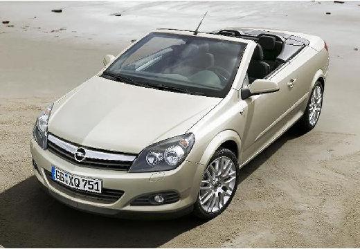 OPEL Astra kabriolet silver grey przedni lewy