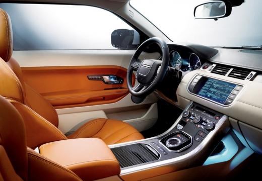 LAND ROVER Range Rover Evoque I kombi wnętrze
