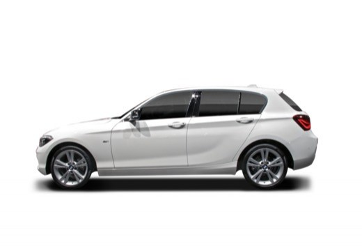 BMW Seria 1 hatchback boczny lewy