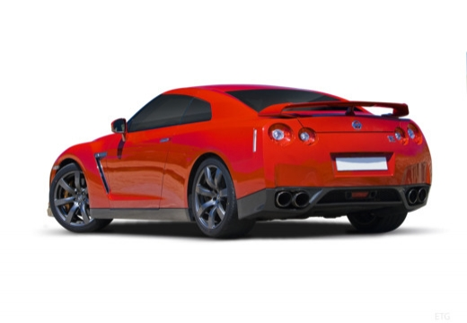 NISSAN GT-R coupe tylny lewy