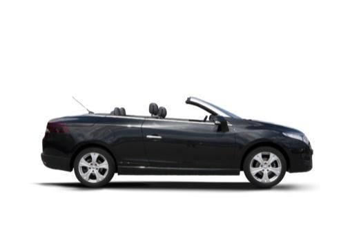 RENAULT Megane III CC kabriolet czarny boczny prawy