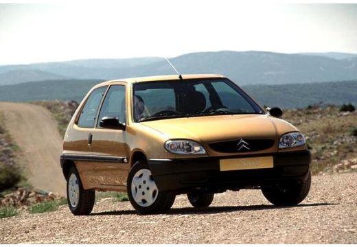 CITROEN Saxo II hatchback złoty przedni prawy
