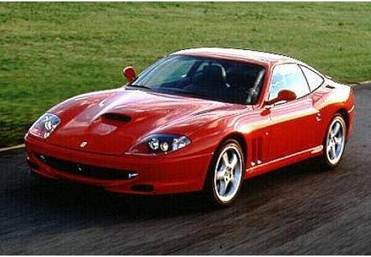 FERRARI 550 coupe czerwony jasny przedni lewy