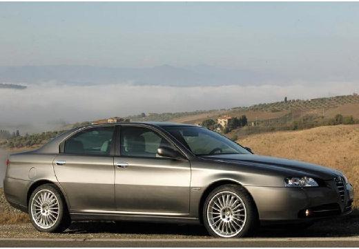 ALFA ROMEO 166 FL sedan szary ciemny przedni prawy