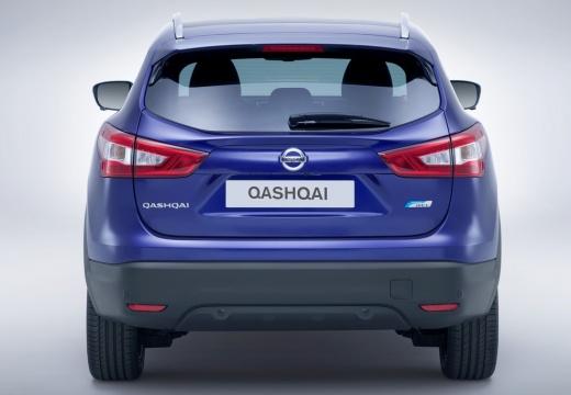 NISSAN Qashqai III hatchback niebieski jasny tylny