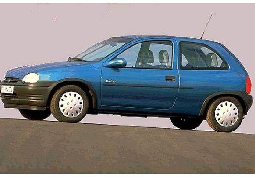 OPEL Corsa B hatchback niebieski jasny przedni lewy