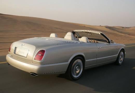 BENTLEY Azure kabriolet biały tylny prawy