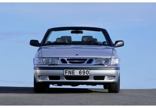 SAAB 9-3 kabriolet silver grey przedni