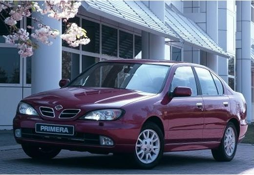 NISSAN Primera III sedan fioletowy przedni lewy
