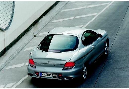 HYUNDAI coupe silver grey tylny prawy