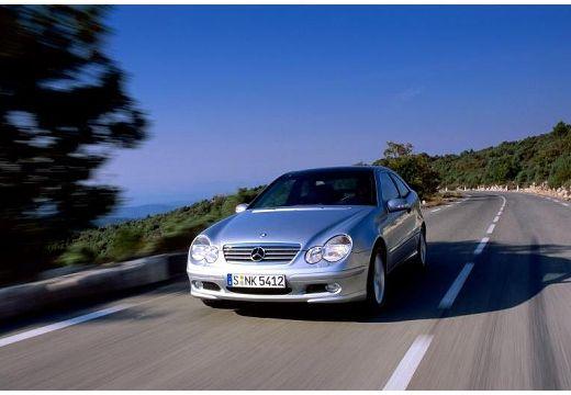MERCEDES-BENZ C 200 CDI Coupe Sport CL203 I 2.2 122KM (diesel)