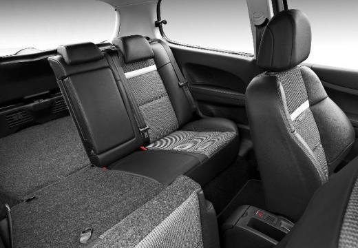 PEUGEOT 307 hatchback wnętrze
