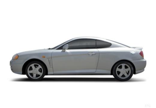 HYUNDAI Coupe III coupe silver grey boczny lewy