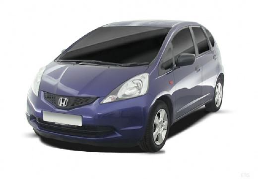 HONDA Jazz II hatchback niebieski jasny