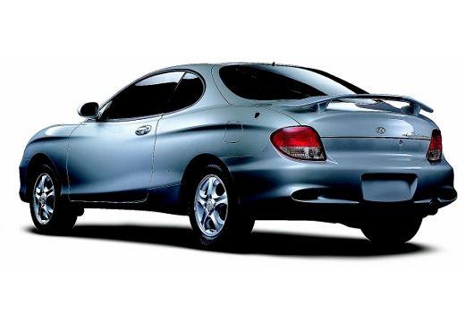 HYUNDAI Coupe II coupe silver grey tylny lewy