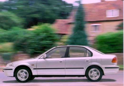 HONDA Civic sedan silver grey boczny lewy