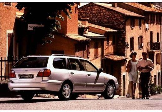 NISSAN Primera II kombi silver grey tylny prawy
