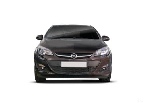 OPEL Astra IV sedan czarny przedni