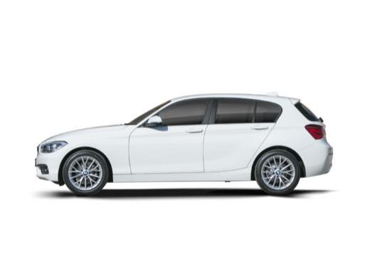 BMW Seria 1 F20 II hatchback boczny lewy