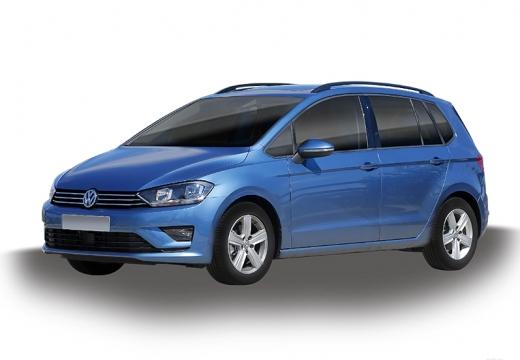 VOLKSWAGEN Golf VII Sportsvan I hatchback niebieski jasny