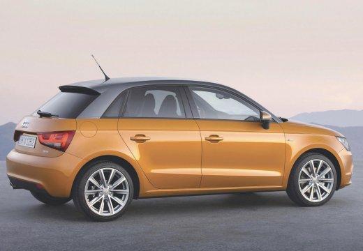 AUDI A1 Sportback II hatchback pomarańczowy tylny prawy