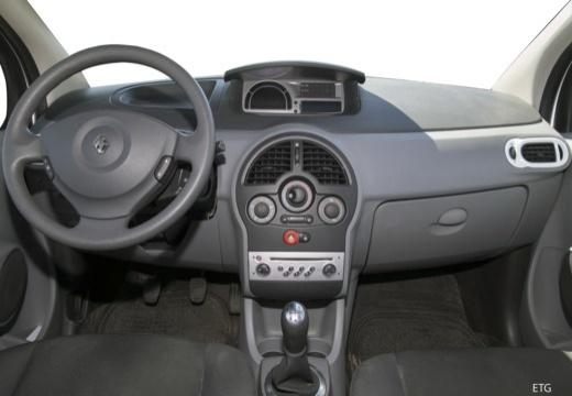 RENAULT Modus II hatchback tablica rozdzielcza