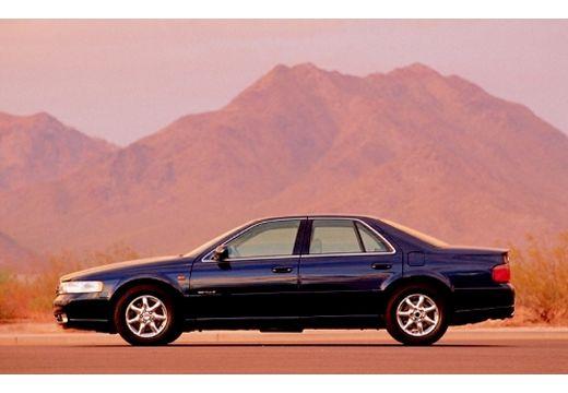 CADILLAC Seville sedan niebieski jasny boczny lewy