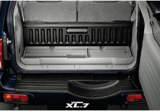 SUZUKI Vitara Grand XL-7 kombi przestrzeń załadunkowa