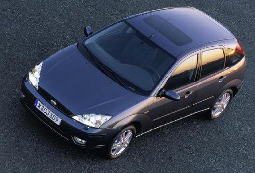 FORD Focus II hatchback niebieski jasny górny przedni