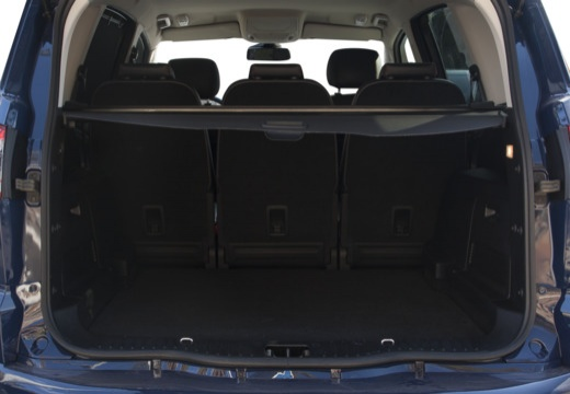 FORD S-MAX II van niebieski jasny przestrzeń załadunkowa