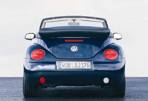 VOLKSWAGEN New Beetle kabriolet niebieski jasny tylny