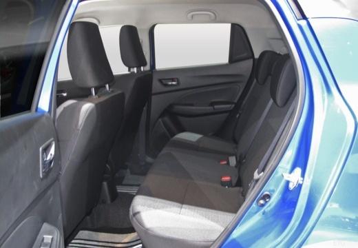 SUZUKI Swift IV hatchback wnętrze