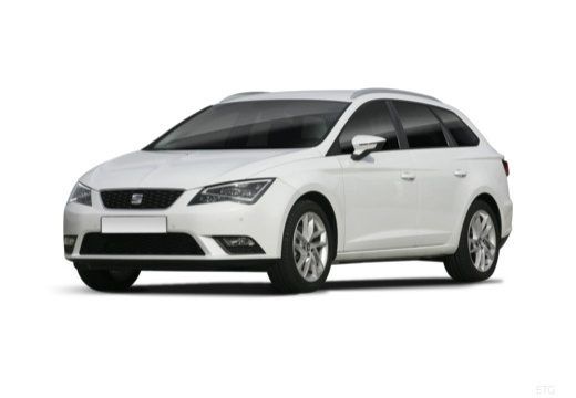 SEAT Leon ST I kombi biały przedni lewy