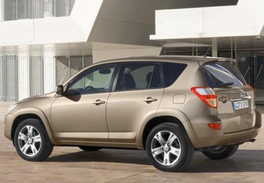 Toyota RAV4 V kombi beige tylny lewy
