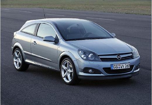 OPEL Astra III GTC I hatchback silver grey przedni prawy