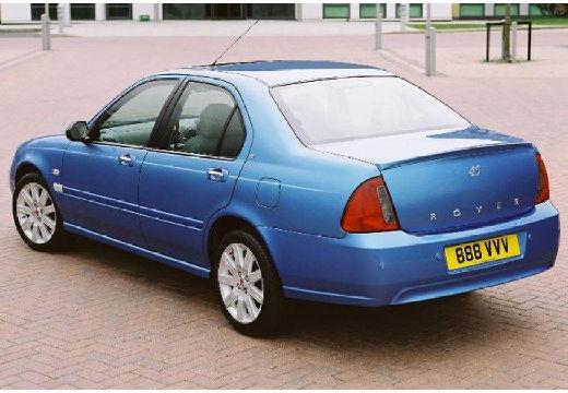 ROVER 45 sedan niebieski jasny tylny lewy