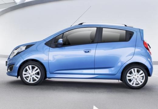 CHEVROLET Spark hatchback niebieski jasny boczny lewy