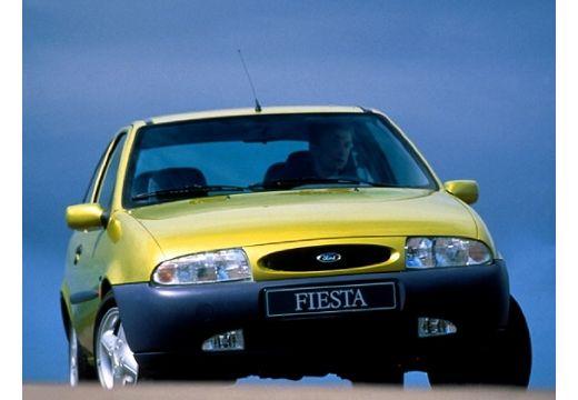 FORD Fiesta III hatchback żółty przedni
