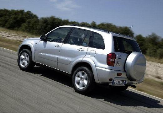 Toyota RAV4 III kombi silver grey tylny lewy