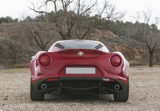 ALFA ROMEO 4C coupe tylny